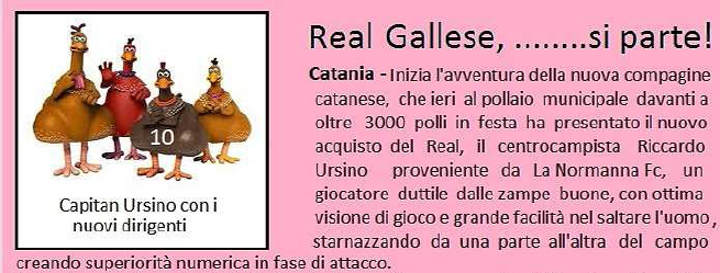 real gallese si parte